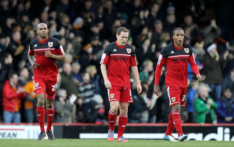 7 Bristol City dejection