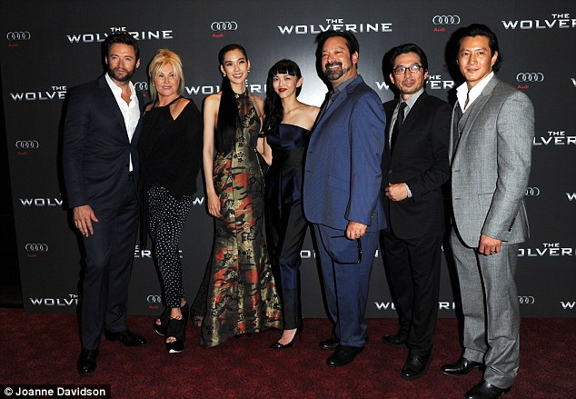 Hugh and cast