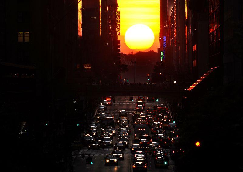 Manhattanhenge2CORBIS