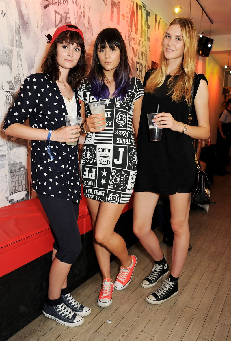 Charlotte De Carle, Lilah Parsons and Tabitha Hall-CONVERSE_AT_THE_CIRCLE109