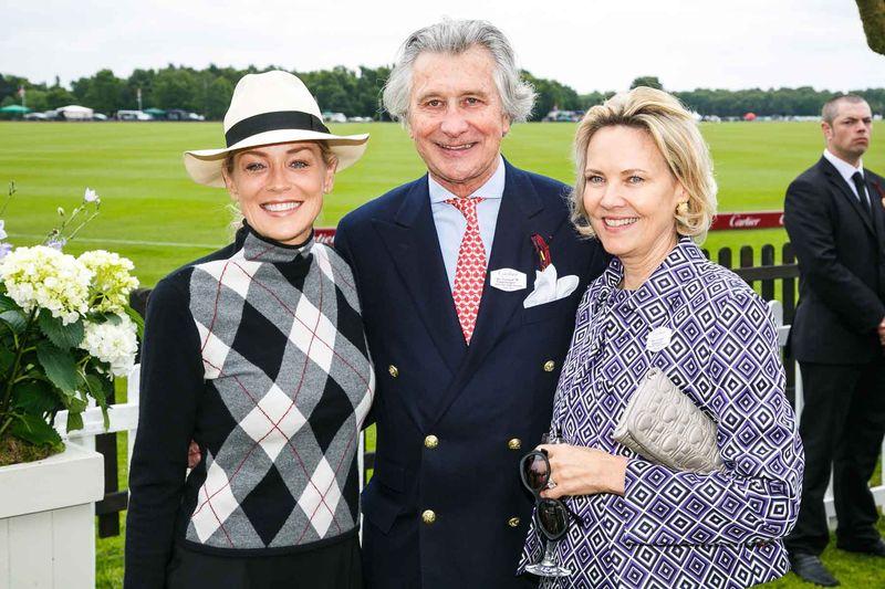 4. Ms Sharon Stone, Mr & Mrs Arnaud M. Bamberger