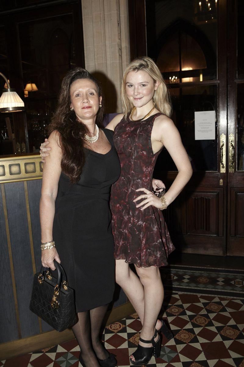 Amber Atherton and Jane Atherton at The Gilbert Scott
