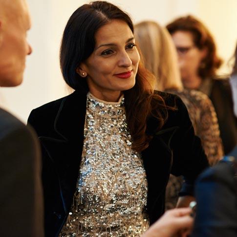 Yasmin Mills image - (c) Harper's Bazaar SINGLE USE ONLY