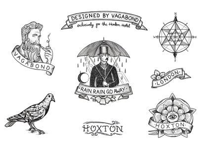 Hoxtonhoteltattoodesigns