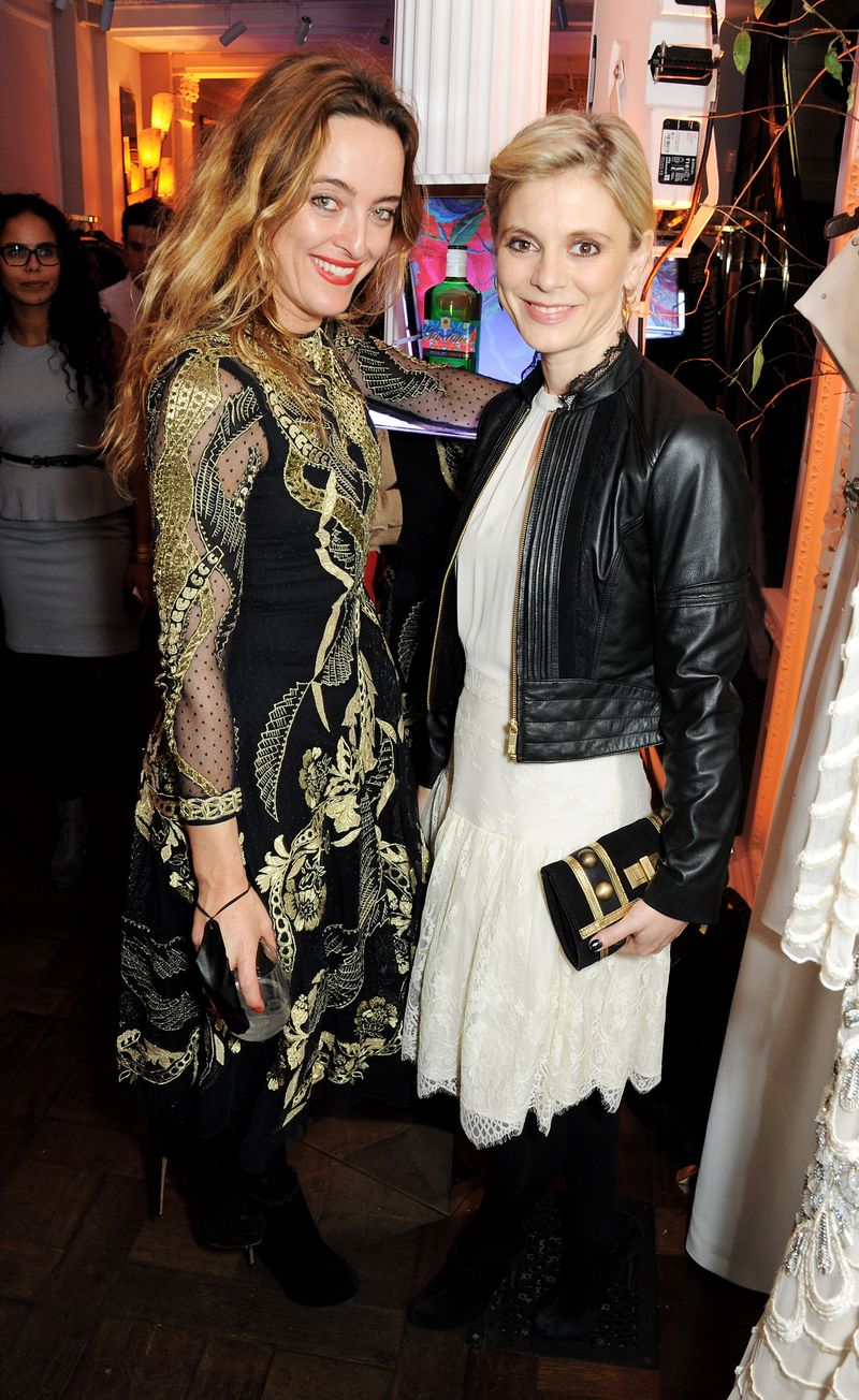 Alice Temperley and Emilia Fox at the Gordon's and Temperley launch party (3)