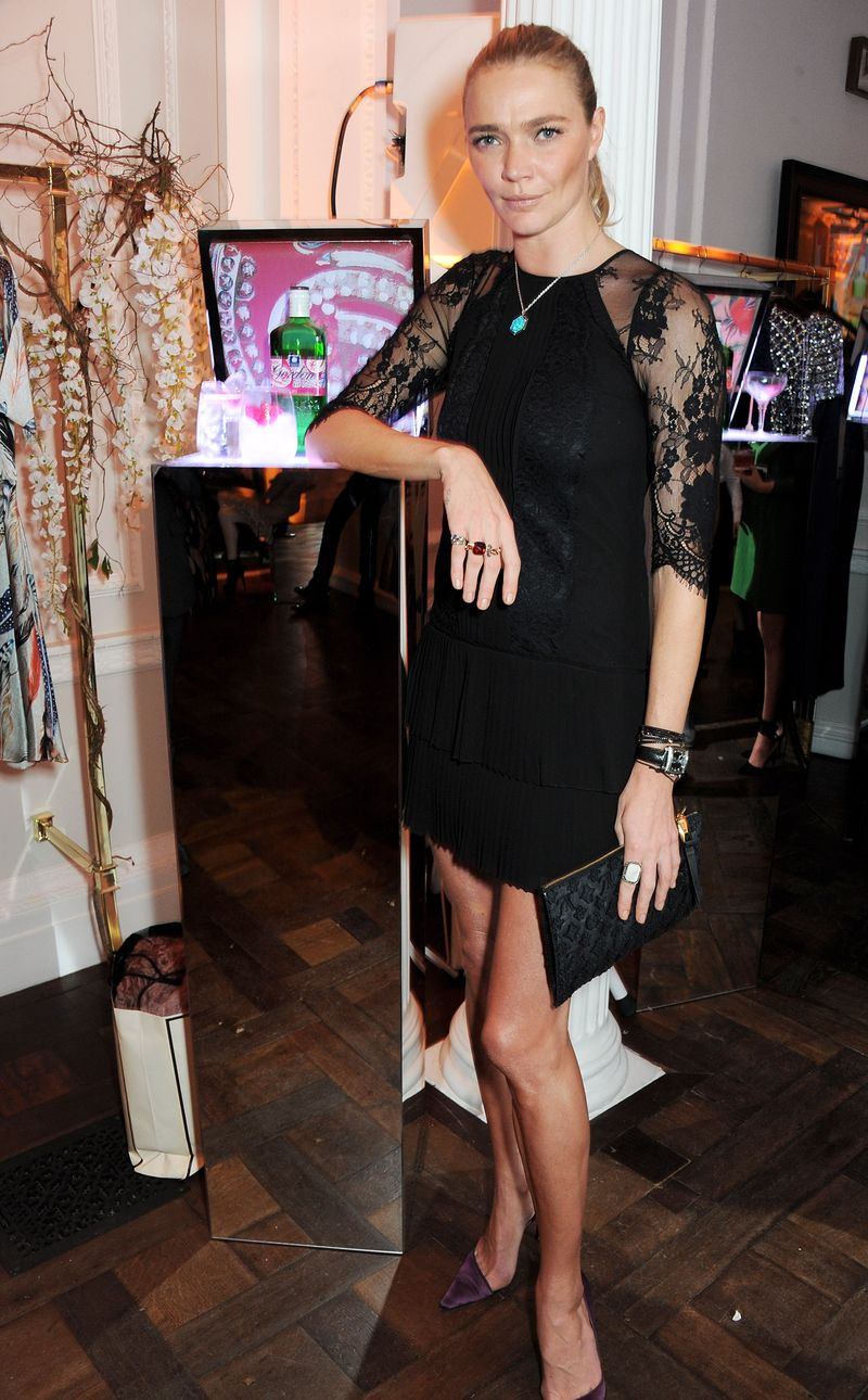 Jodie Kidd at the Gordon's and Temperley launch Ten Green Bottles Launch Party (3)
