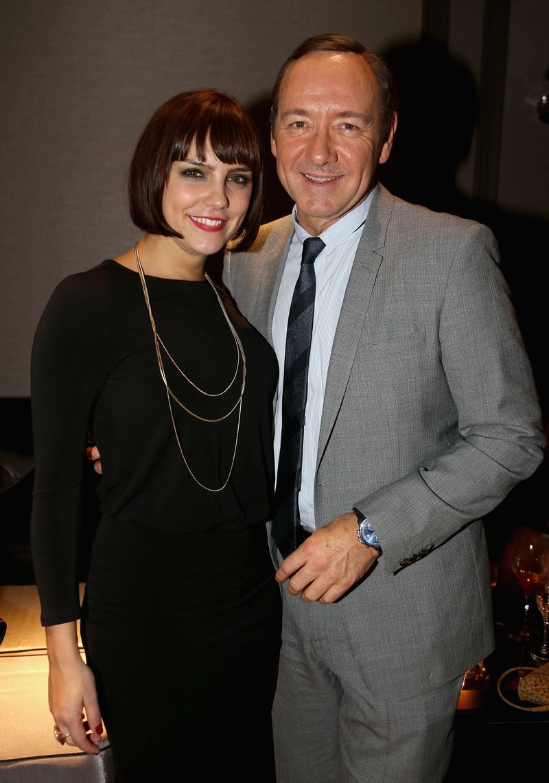 Annabel Scholey and Kevin Spacey23