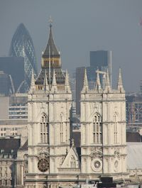 View from westminster cathedral