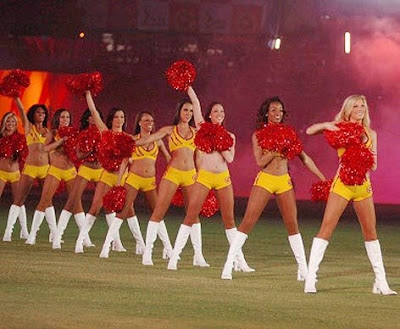 Royal Challengers Bangalore Cheerleaders Wallpaper