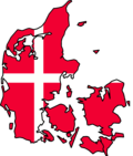 Danish flag map wiki