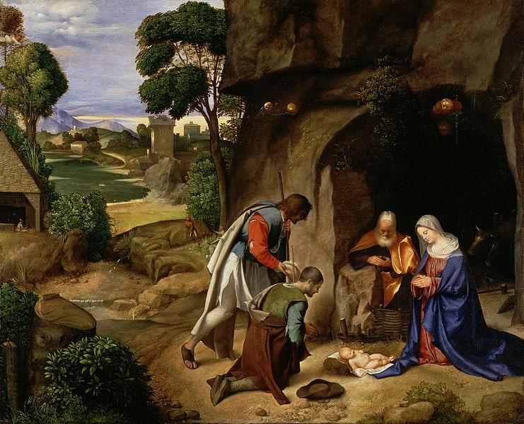 Giorgione nativity