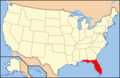 Usa florida map wiki