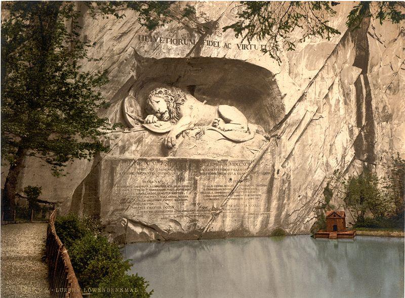 Lucern lion