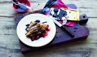Abra-ca-Debora chilli chocolate pancakes