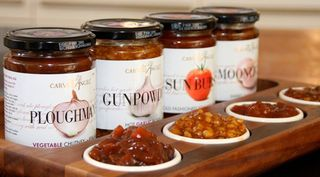Carved chutneys