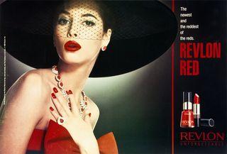 Vintage Images Revlon Red