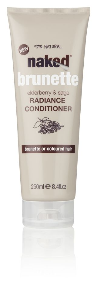 Naked brunette conditioner
