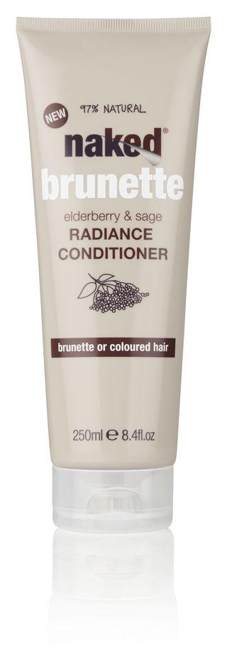 Naked brunette conditioner
