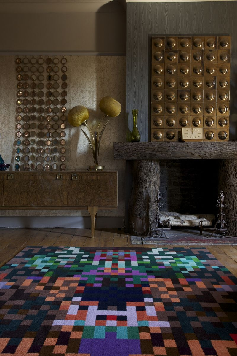 BR Harlequin Rug by Cristian Zuzunaga for www.rugs-by-brintons.com £699