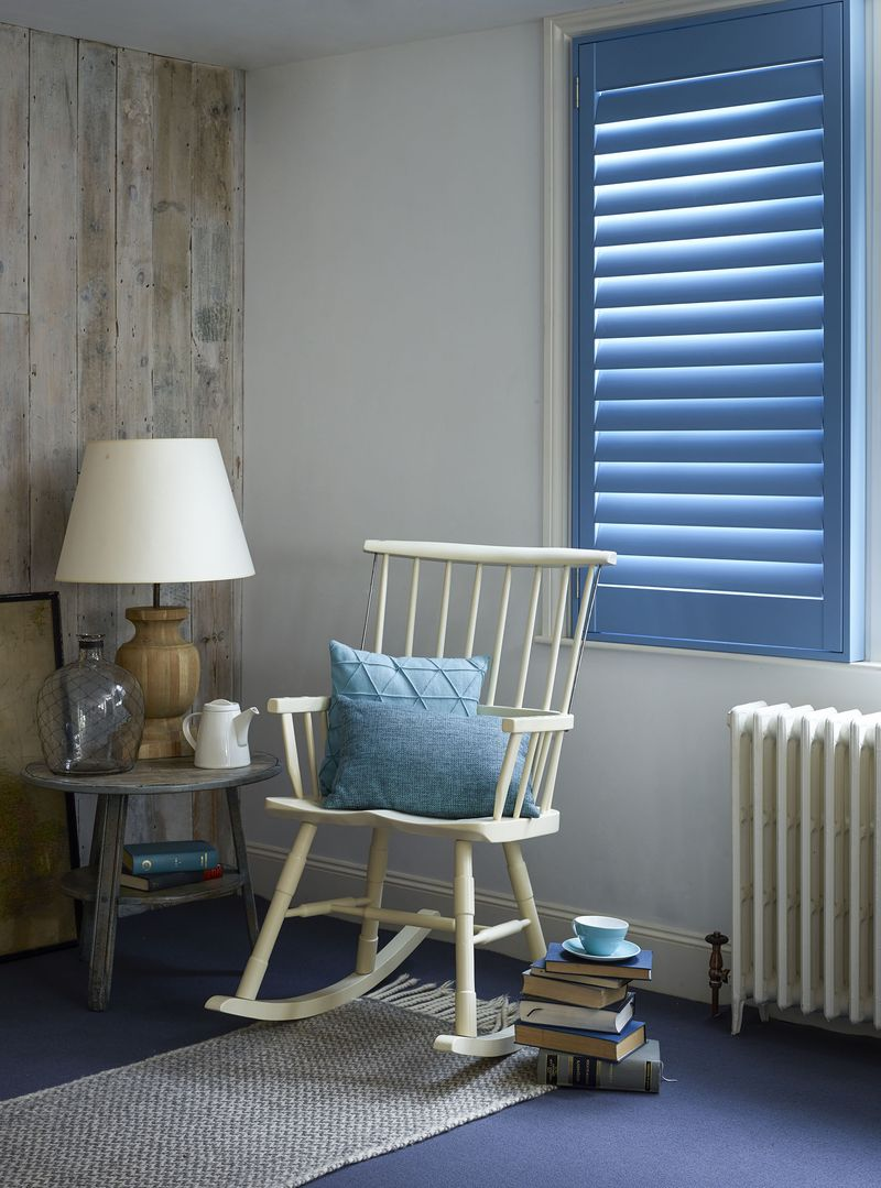 Shutterly Fabulous - Single Panel Shutter Blue