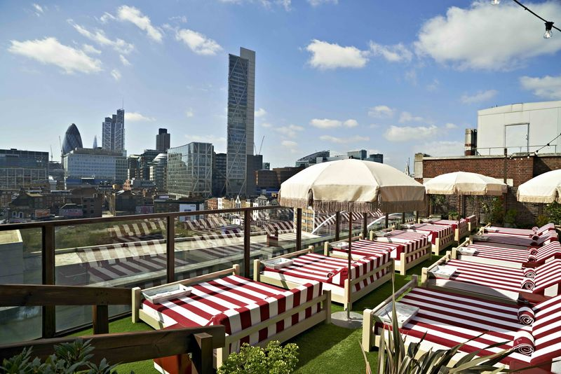 Rooftop, Shoreditch House