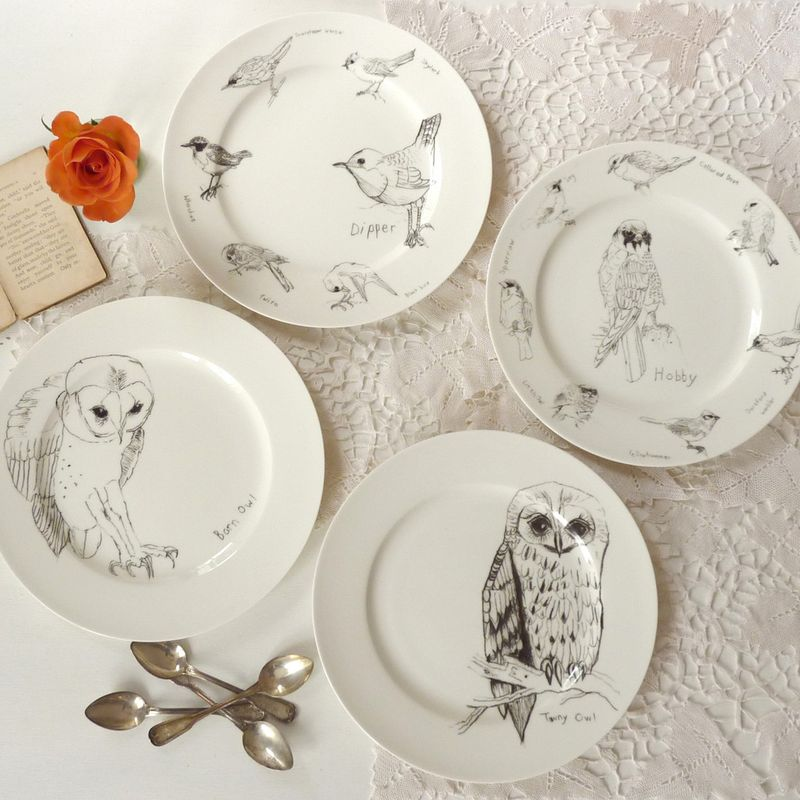 In- Spaces Set of 4 Mixed Side Plates £57