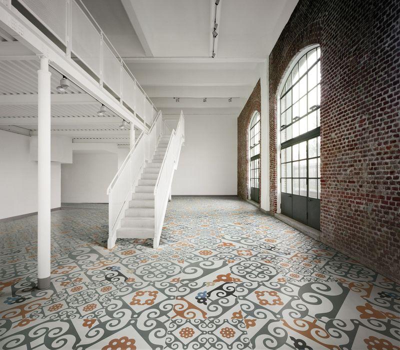 Pt Piazza Tiles Modello Moors porcelain tiles, 60x60cm, £60m2
