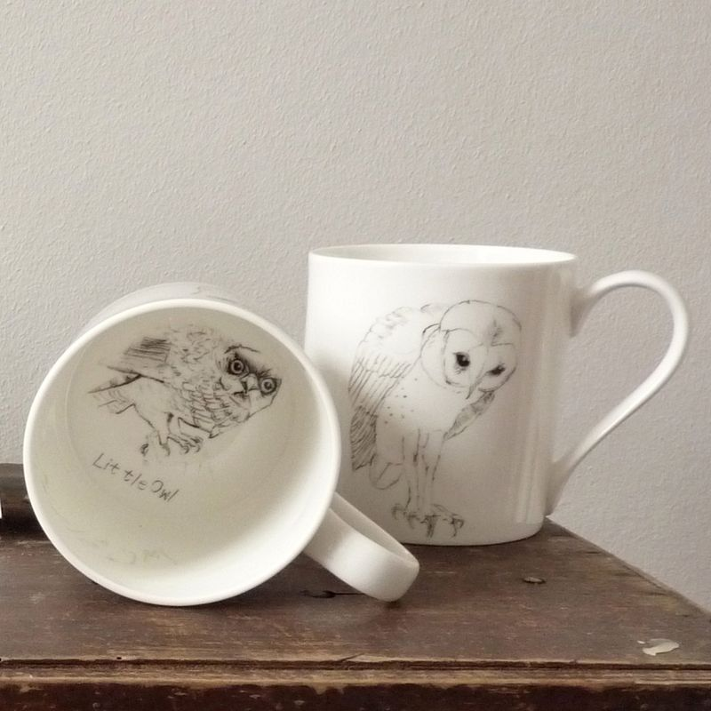 In- Spaces 'Barn Owl' Ash Mug from £15