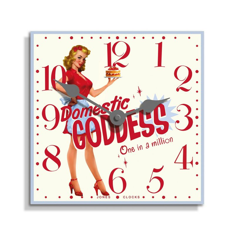 Asda Domestic Goddess Clock