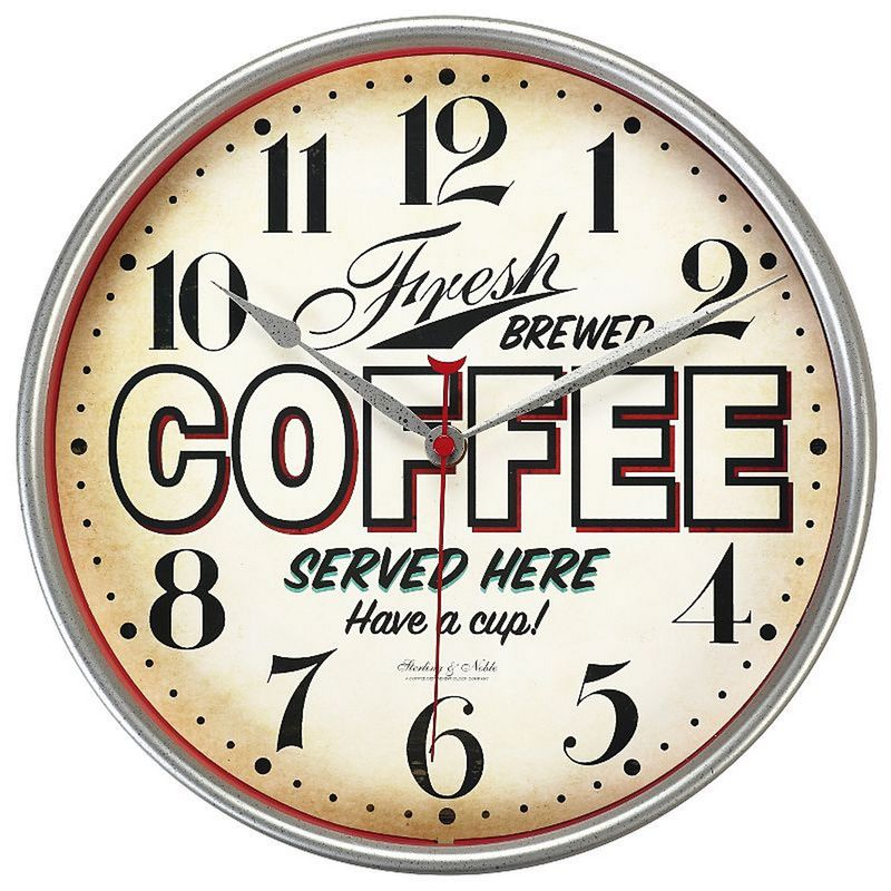 ASDA Retro Coffee Wall Clock £10