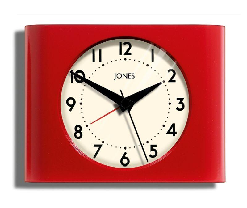 Asda Red mantel clock