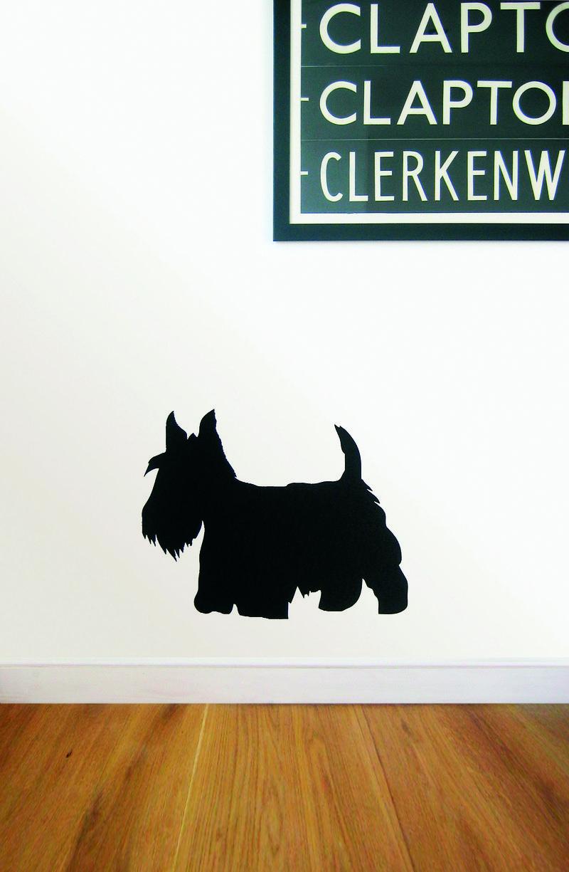 Pp Scotty Dog Wall Sticker by Brume from www.PetsPyjamas.com £25.99