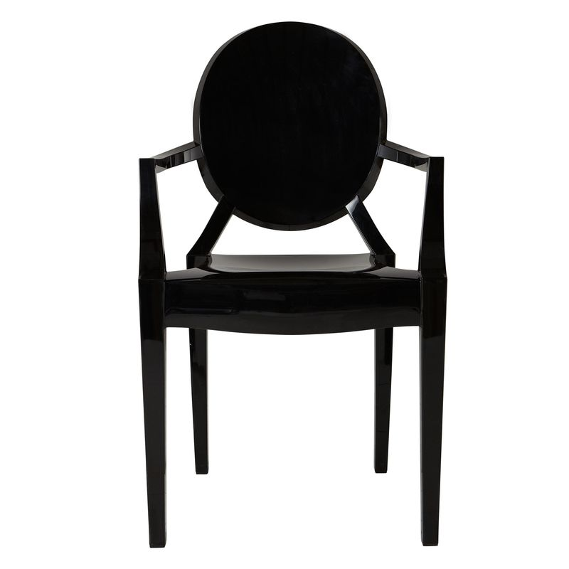 John Lewis Philippe Starck for Kartell Louis Ghost Chair , Black £190