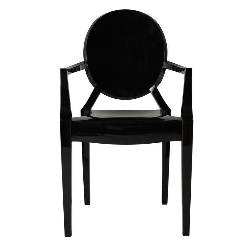 John Lewis Philippe Starck for Kartell Louis Ghost Chair , Black £190