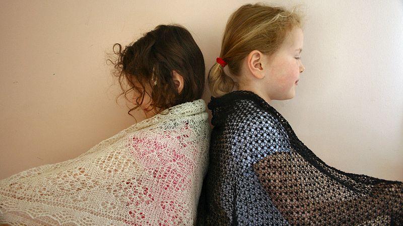 Sheila Fowlie's shawls 2013