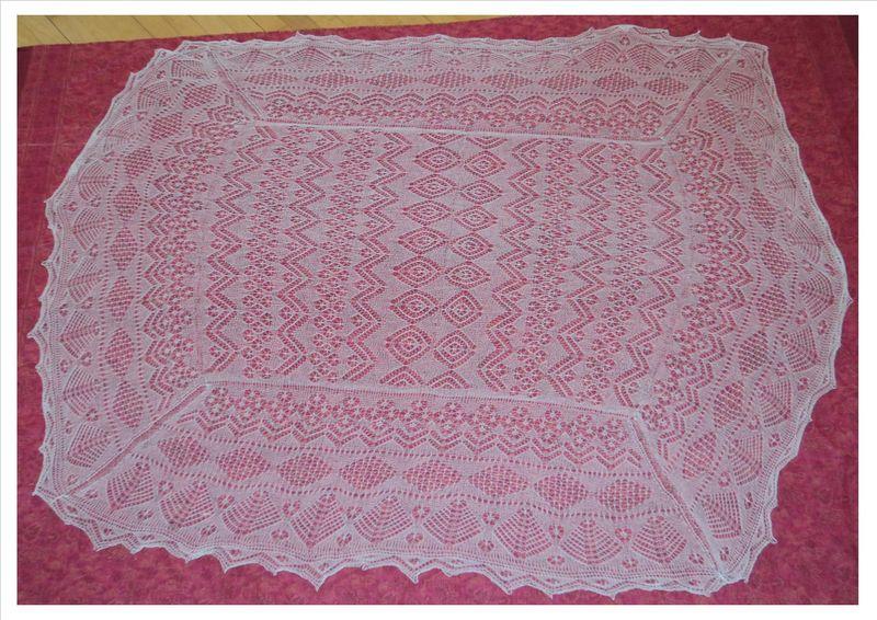 Serena's cashsilk shawl 2013