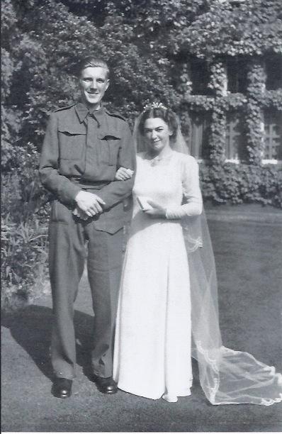 M & D wedding  1940