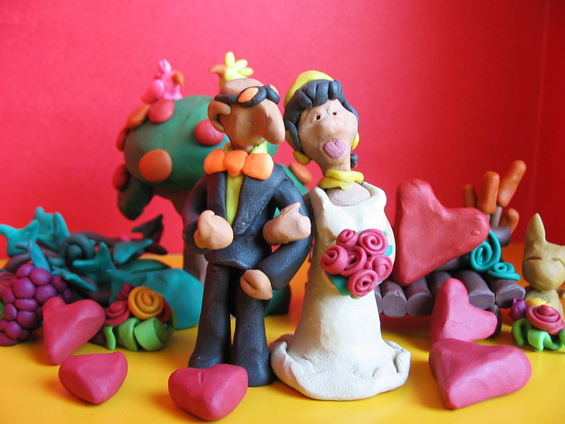 Plastocine invitation