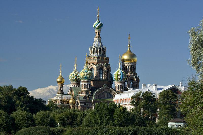 Church of the Spilt Blood St Petersburg