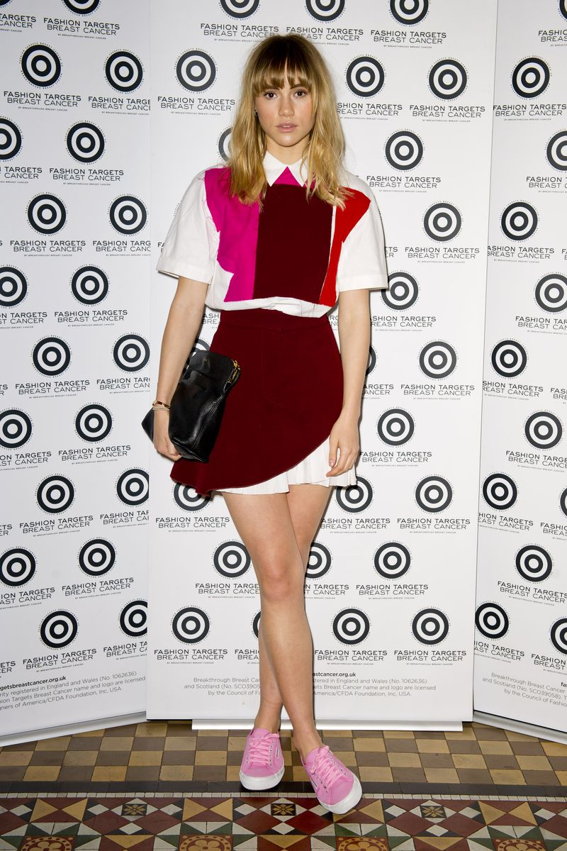 Suki Waterhouse - Fashion Targets Breast Cancer launch party