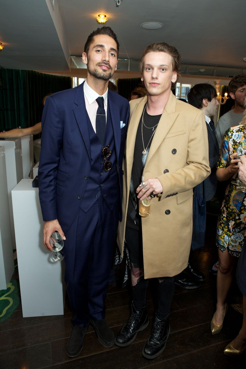 Jamie Campbell Bower and Hugo Taylor at Harvey Nichols 20th May