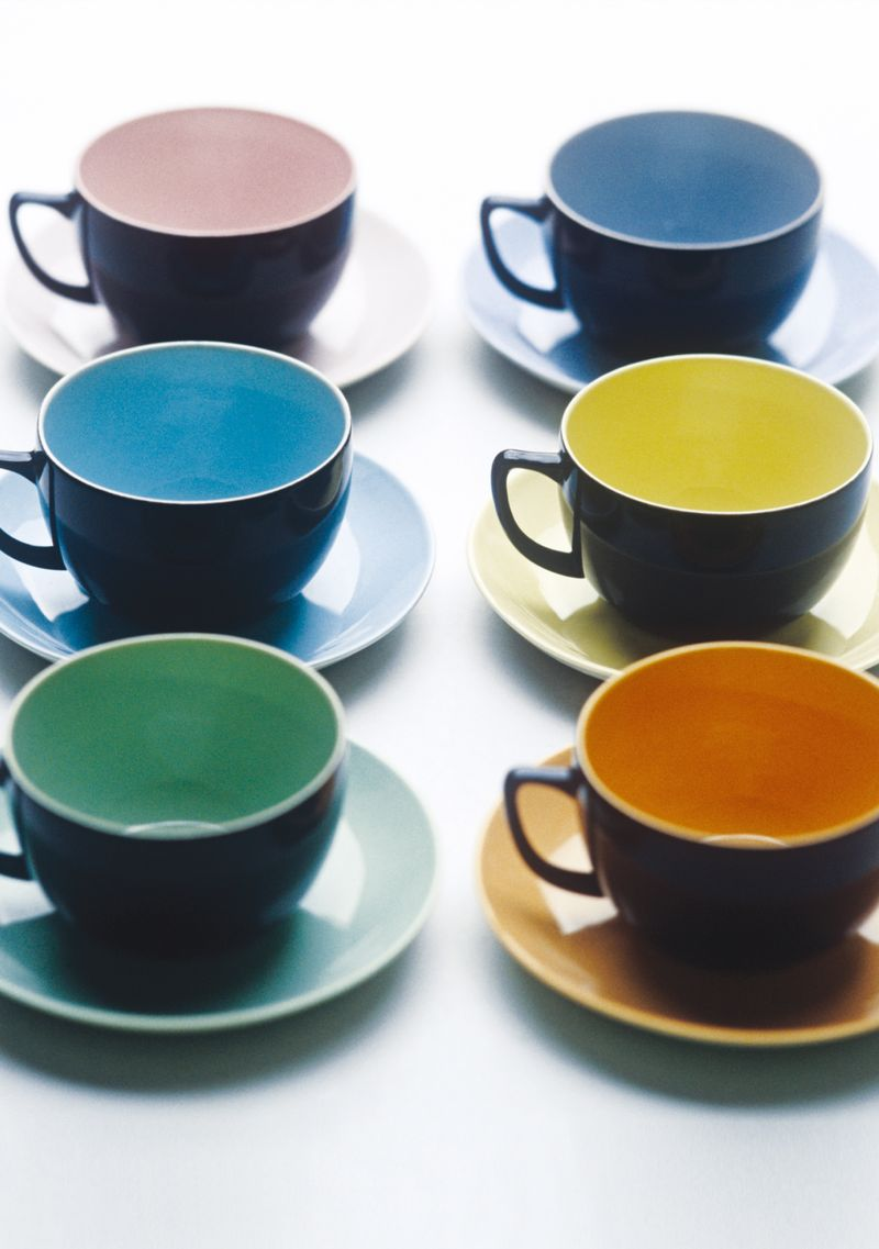 Branksome China - Breakfast cups and saucers - Jet Black - lifestyle - Portrait