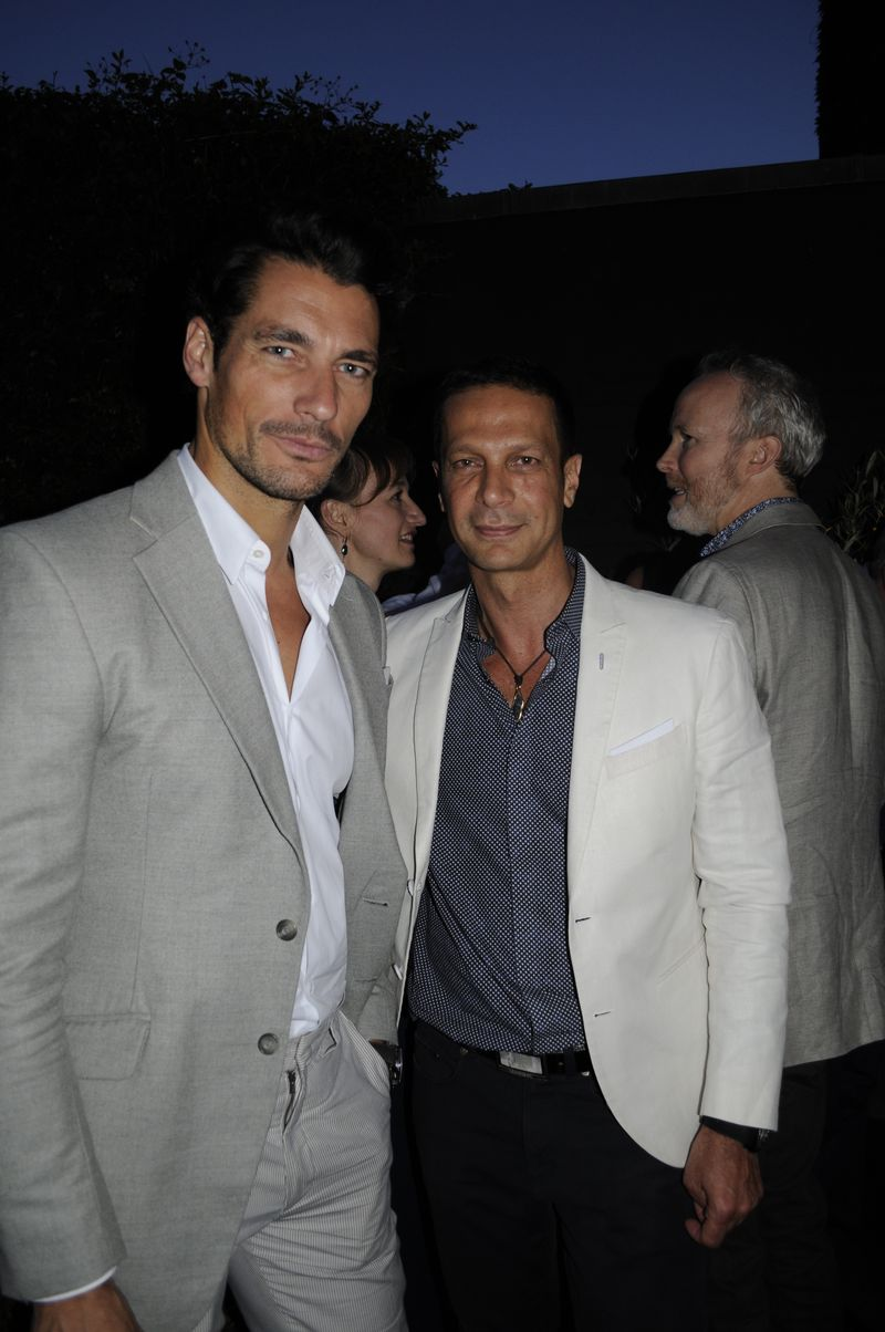 David Gandy and Robert Tateossian