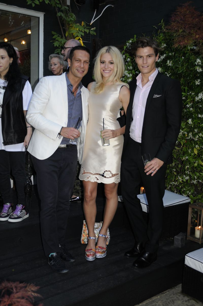 Robert Tateossian, Pixie Lott and Oliver Cheshire