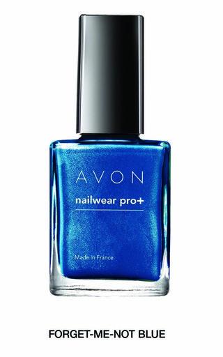 Avon Nailwear Pro+ in Forget Me Not Blue