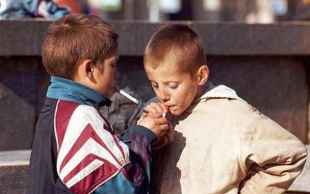Children-smoking