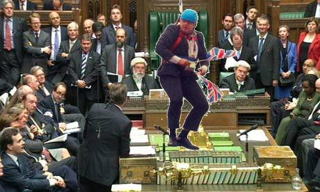 Boris back in Commons
