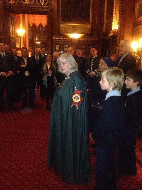 Ann Widdecombe - Papal Dame