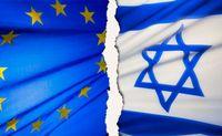 EU Israel flag