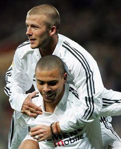 Becks and Ronaldo